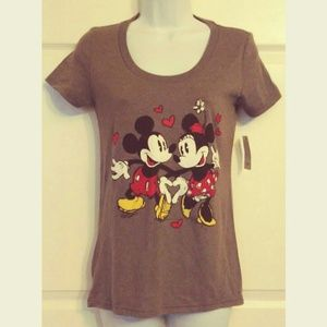 NWT Disney Store Mickey & Minnie Mouse T-shirt
